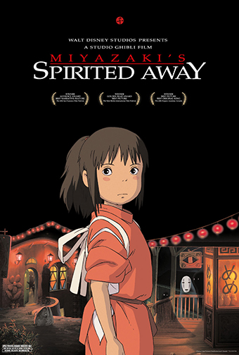 SPIRITED AWAY (IN ENGLISH)