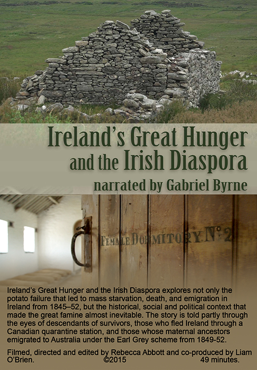 IRELAND'S GREAT HUNGER AND THE IRISH DIASPORA