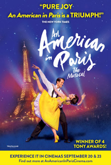 AN AMERICAN IN PARIS – THE MUSICAL