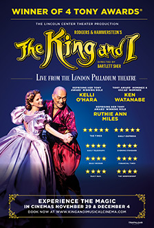 THE KING AND I – FROM THE LONDON PALLADIUM Info & Tickets