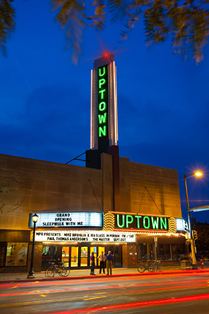 about uptown theatre landmark theatres