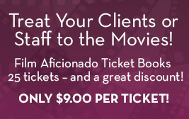 Film Aficionado Ticket Books